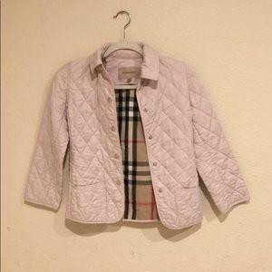 Burberry Pink kids Coat